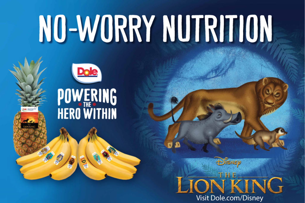 Image of lion king advertisement
